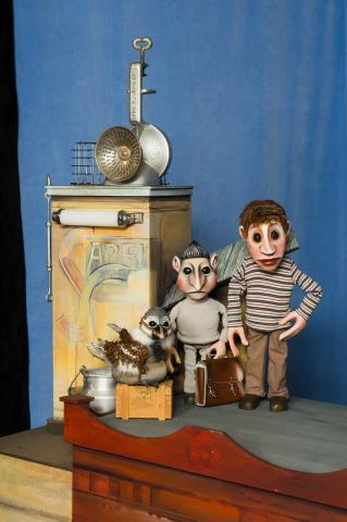 Moussong Theater mit Figuren, Der Talentdieb