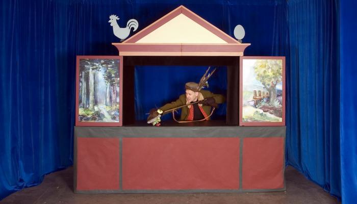 Moussong Theater mit Figuren, Das hässliche Entlein