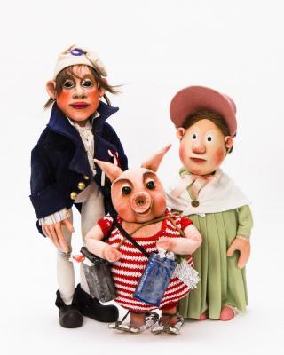 Mousssong Theater mit Figuren, Der Zauberlehrling